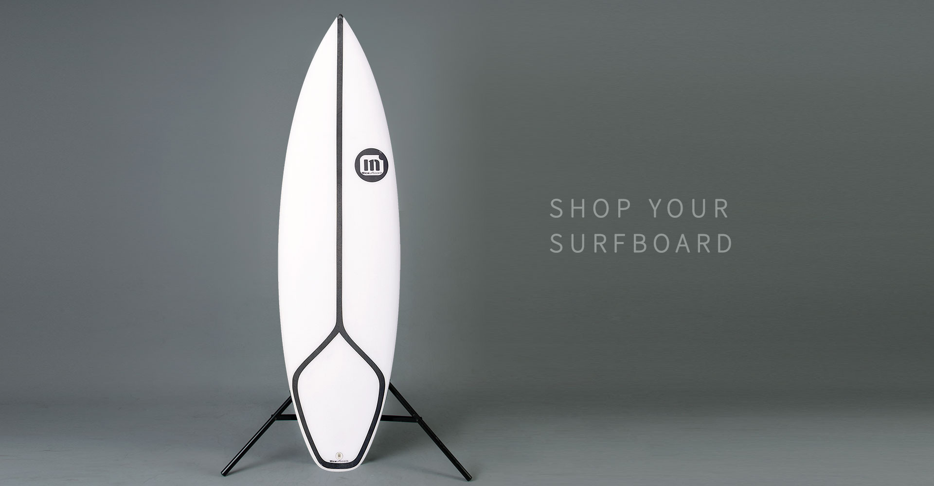 Light and fast Epoxy and EPS high performance surfboard construction custom surfboards with carbon.
