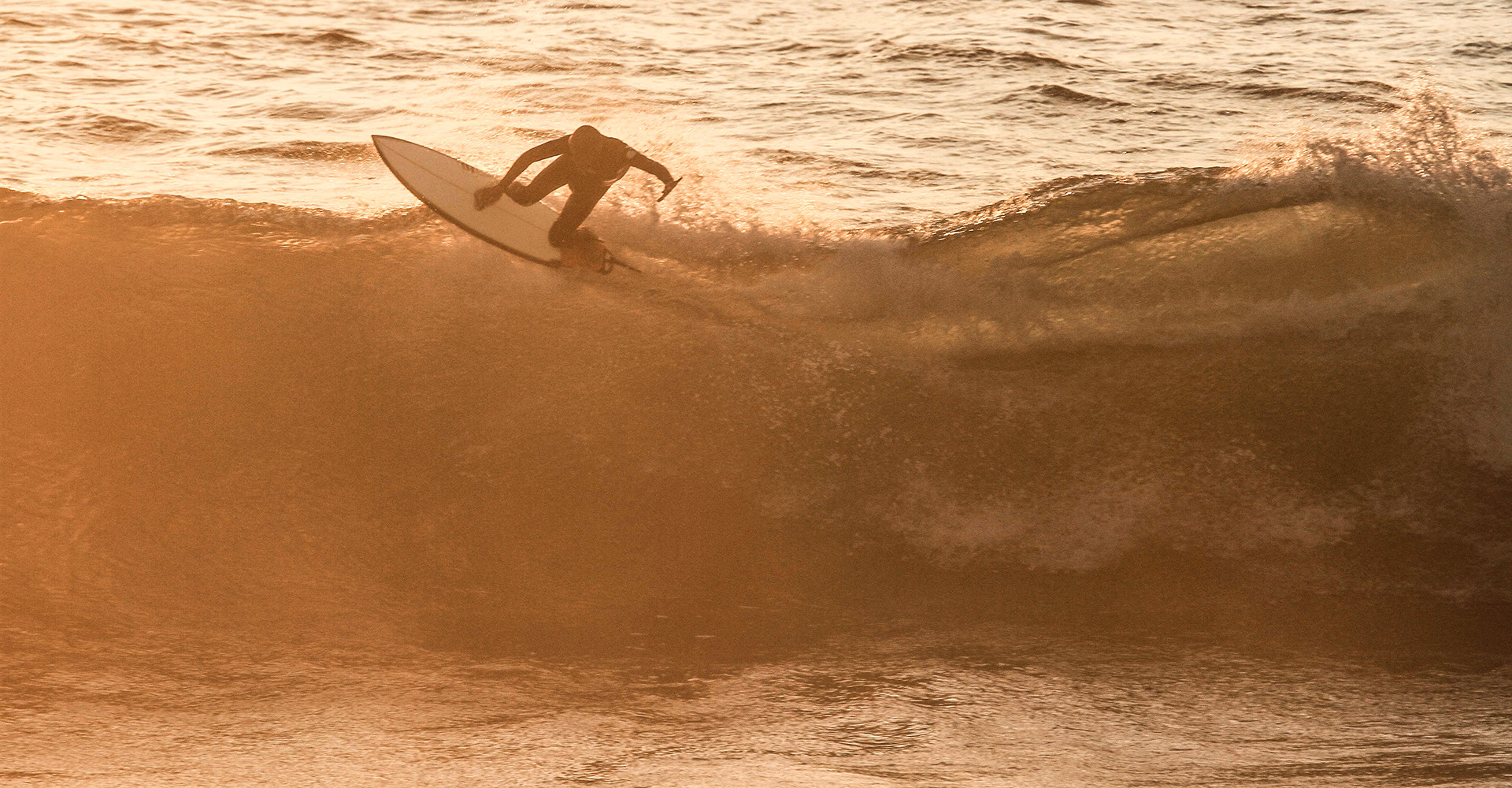 Sunset Surf in Hometown