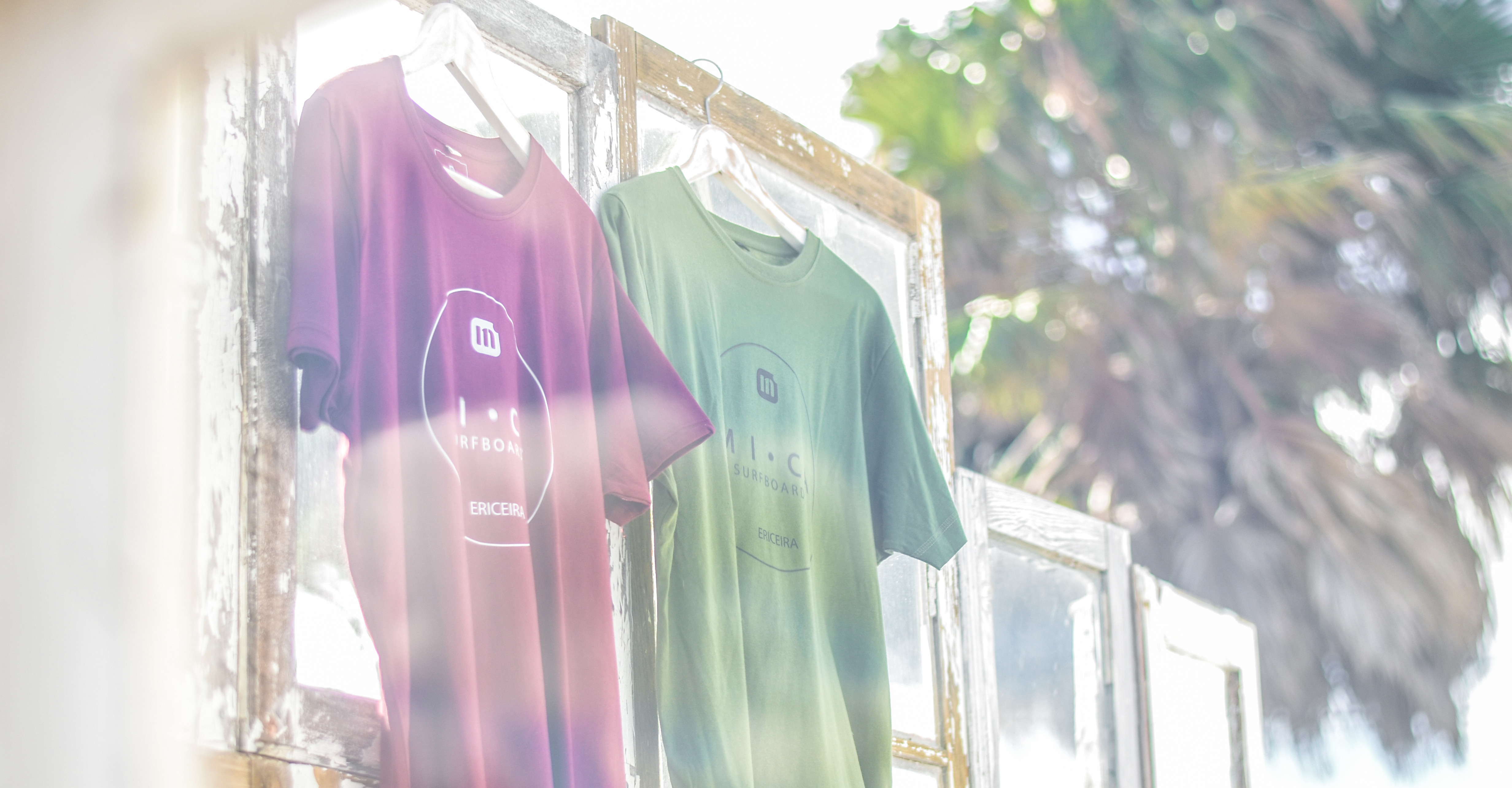 organic t-shirts, clothes, shop, mica surfboards ericeira