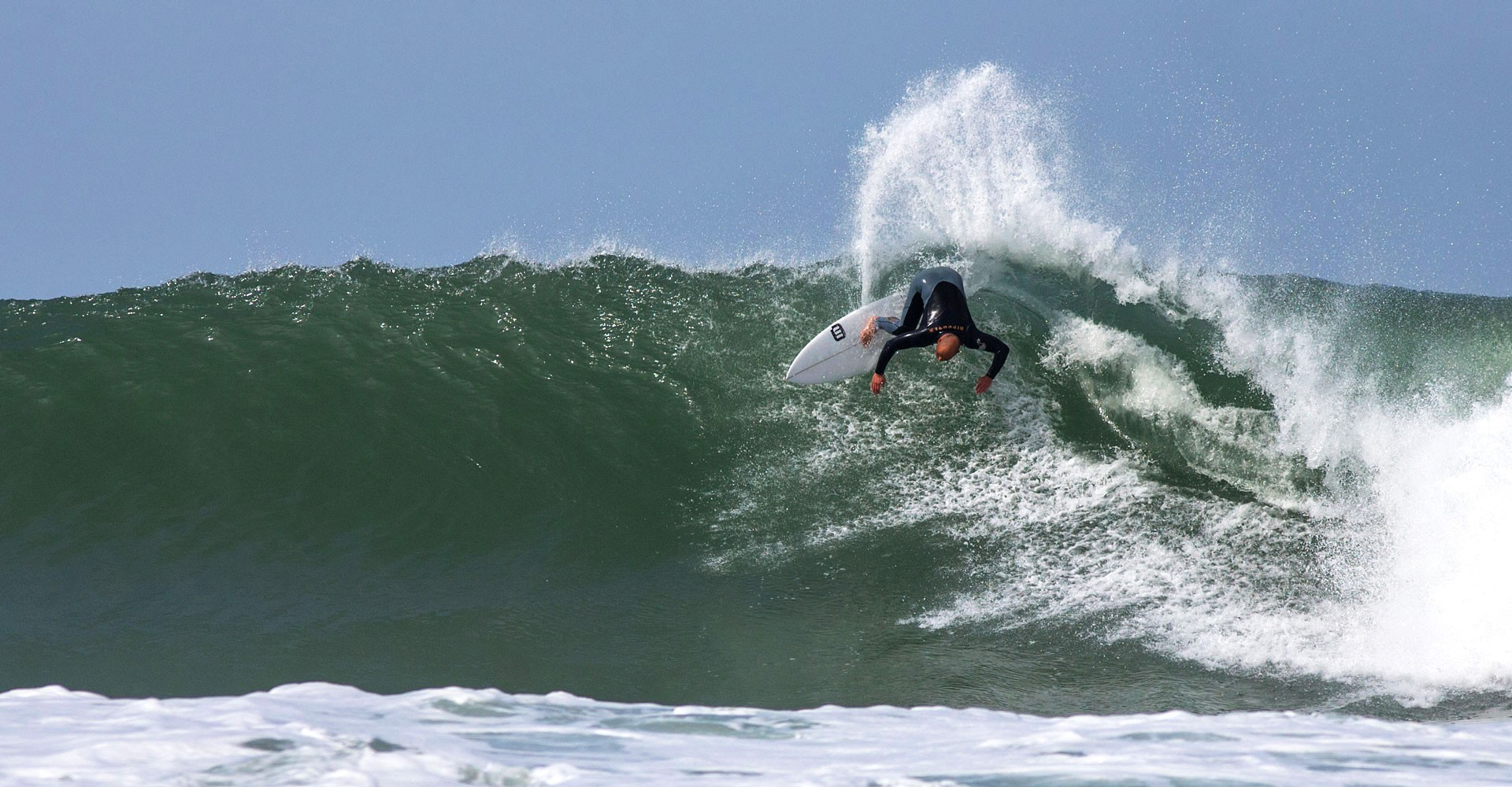 The national and european champion Edgar Nozes is surfing in Coxos, Ericeira, Portugal.
