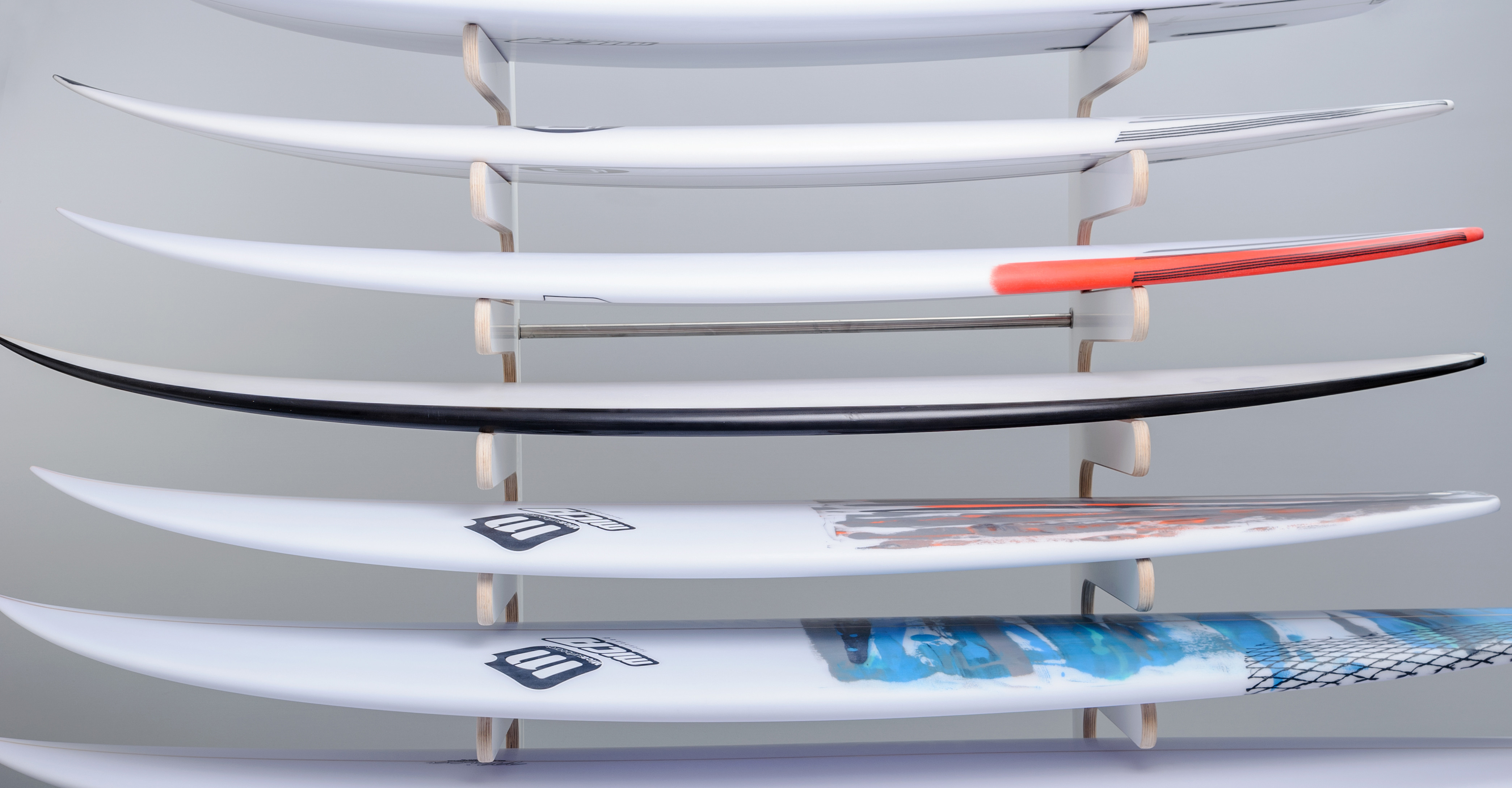 Micasurfboards in Pica Racks